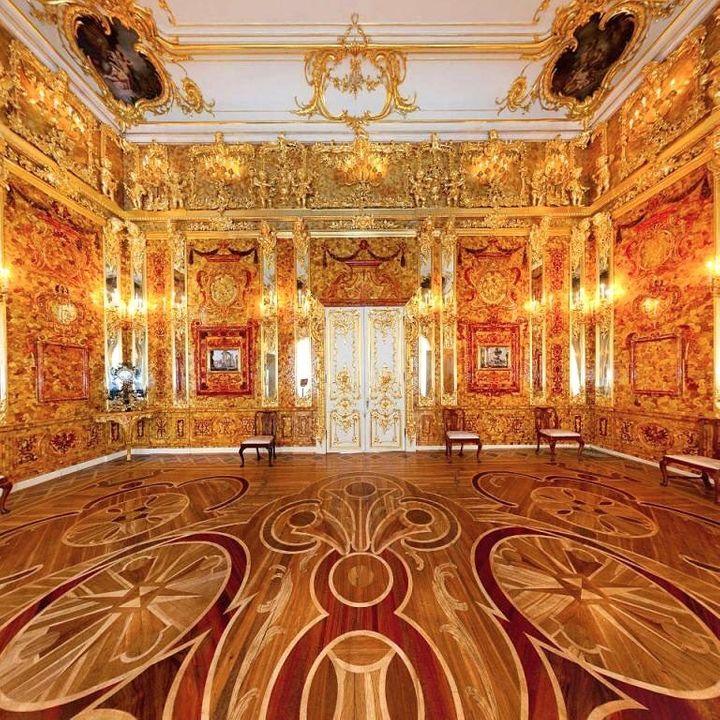 La famosa Cámara de Ámbar