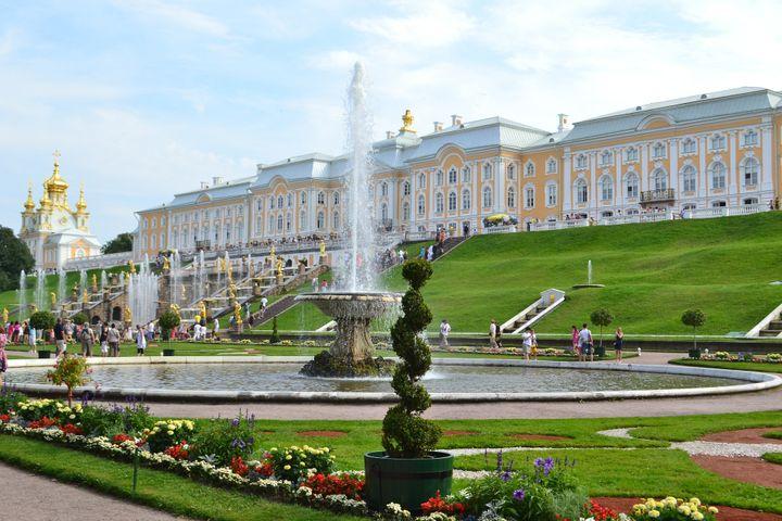 Turistas en Rusia