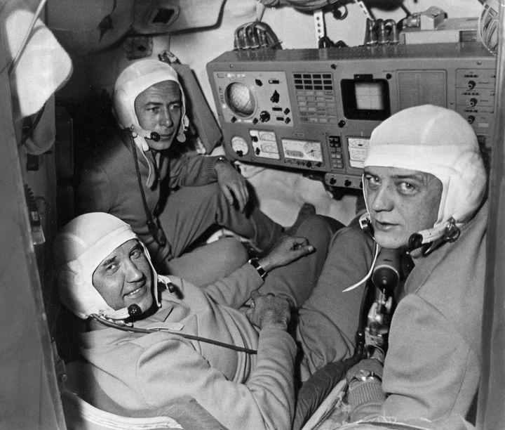 Los Cosmonautas fantasma