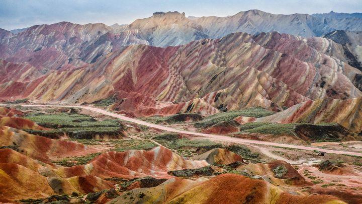 Zhangye Danxia Landform, China