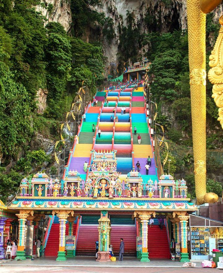 Batu Caves Hindu Temple, Kuala Lumpur, Malaysia