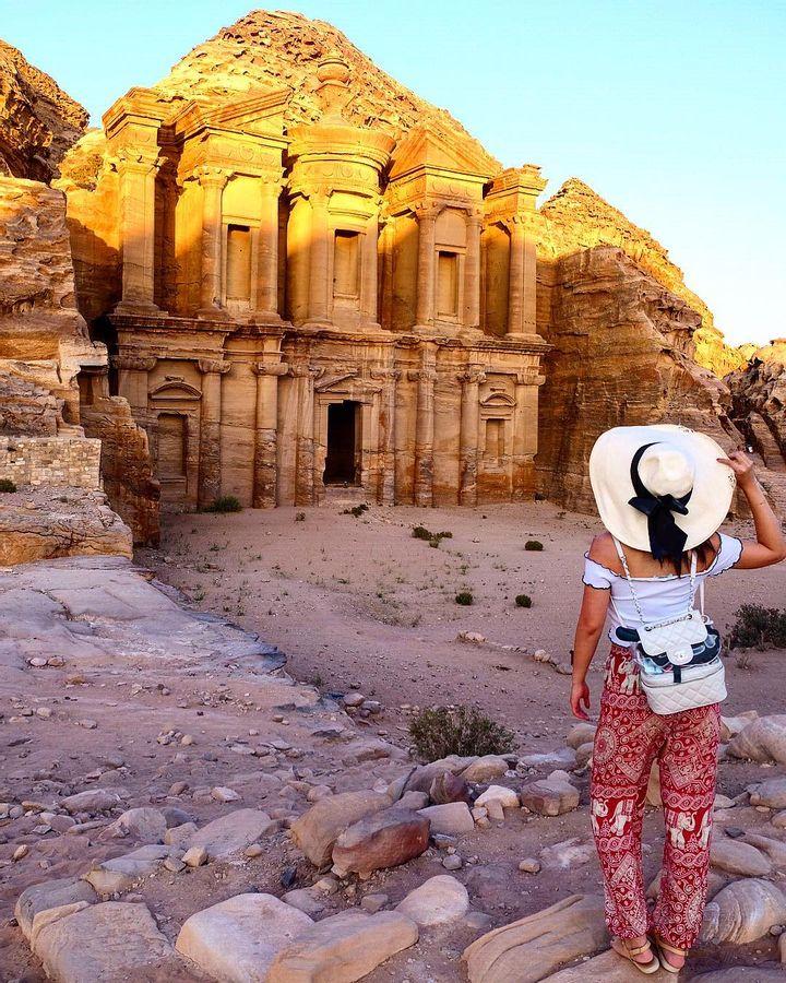 Hidden city of Petra, Jordan