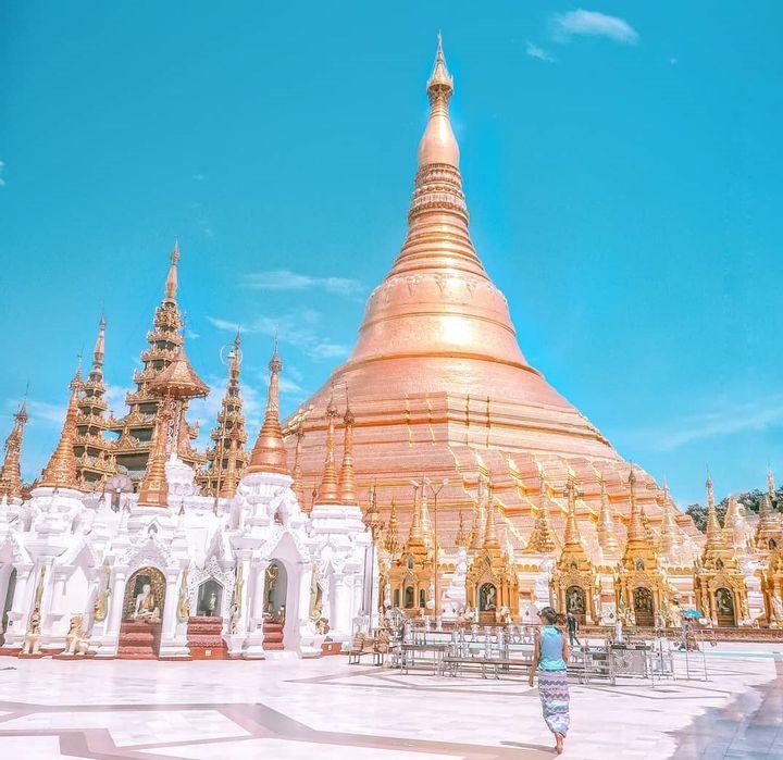 Shwe Dagon Pagoda, Myanmar