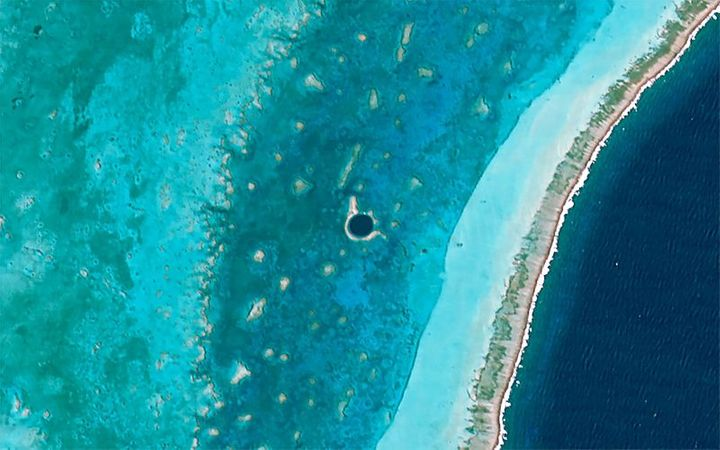 The Belize Barrier Reef