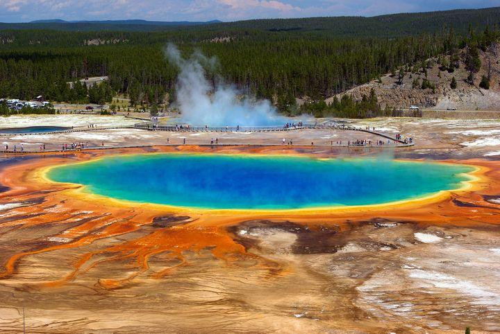 Pretty Colored Pools
