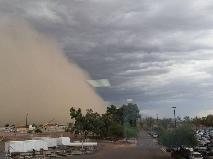 Approaching Dust